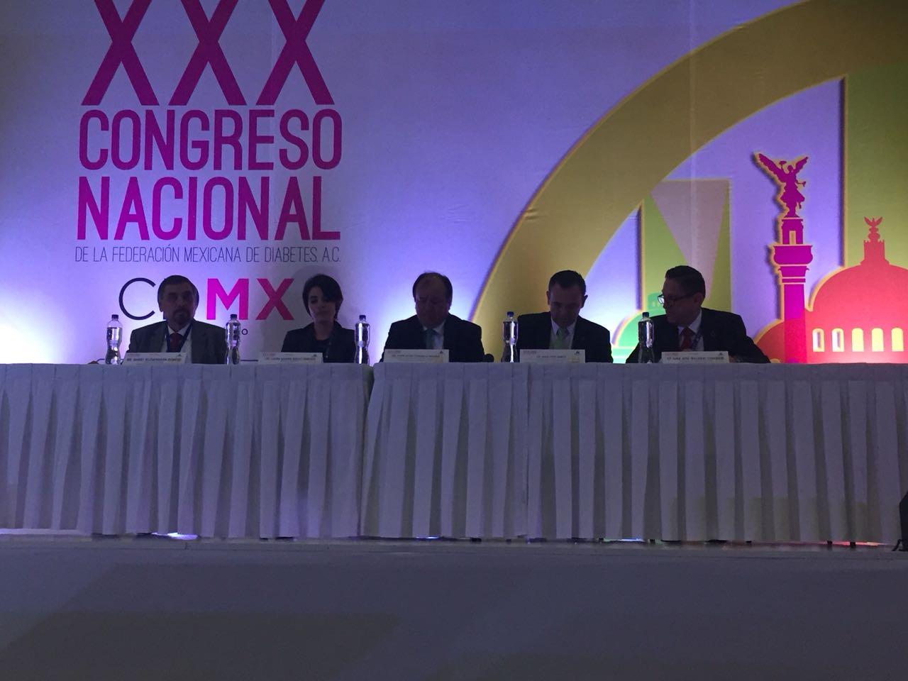 CDMX es sede del XXX Congreso Nacional de la Federación Mexicana de Diabetes, A.C.