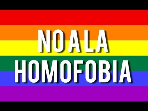 Celebra el amor y di no a la homofobia