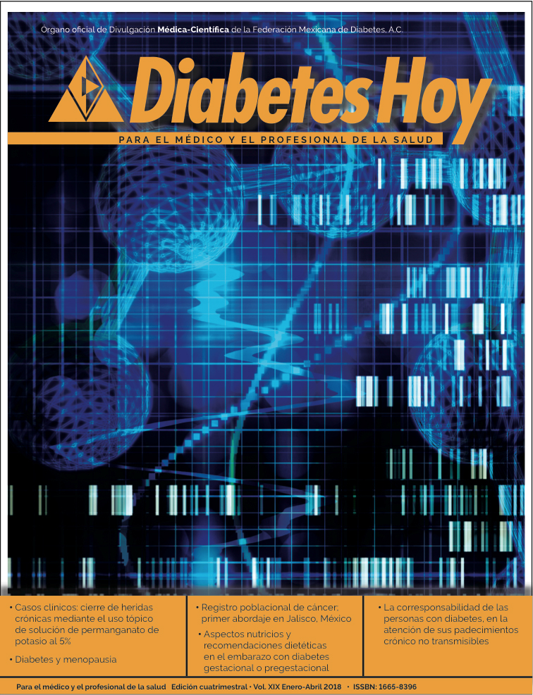 Revista Diabetes Hoy enero-abril 2018
