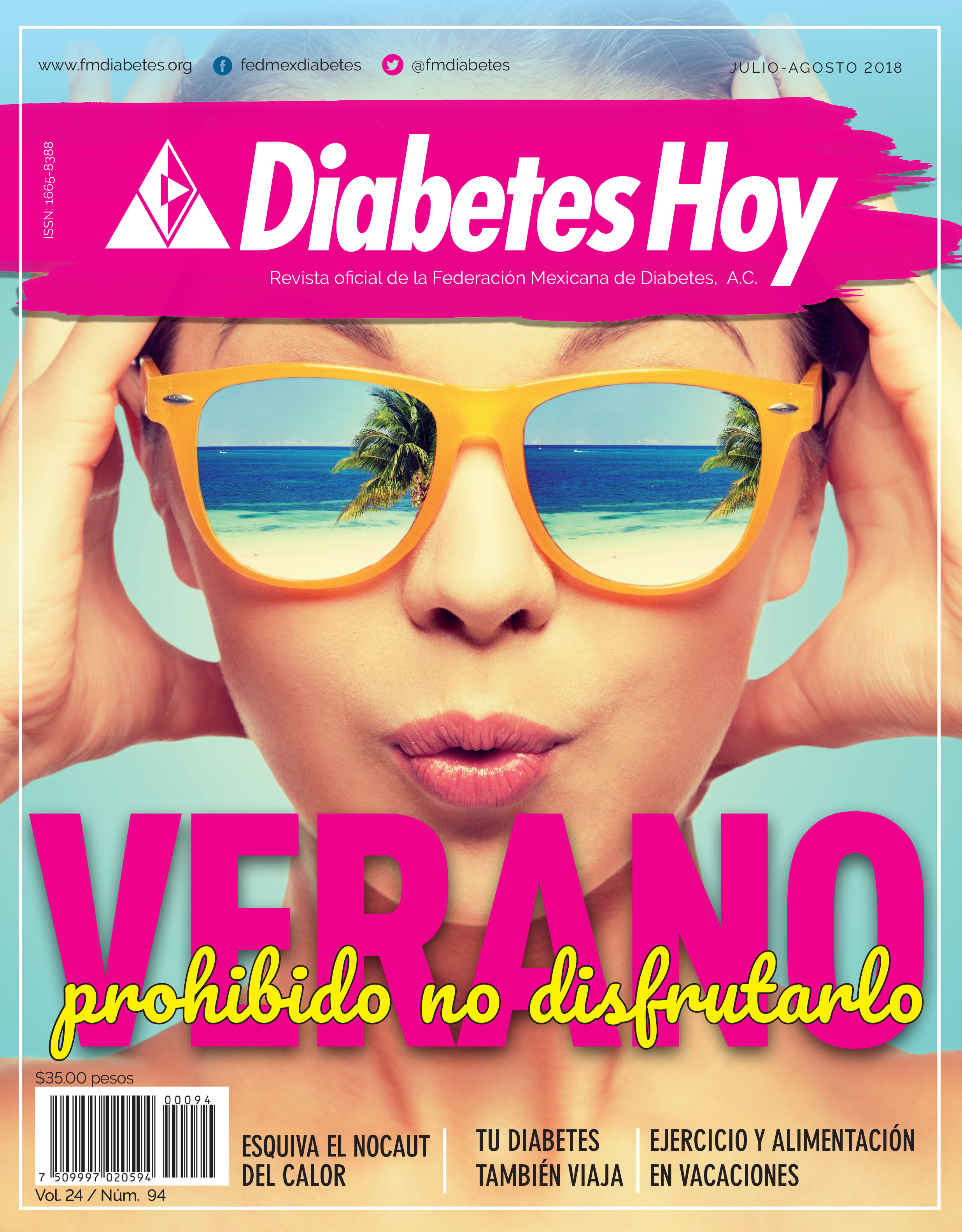 Revista Diabetes Hoy julio-agosto 2018