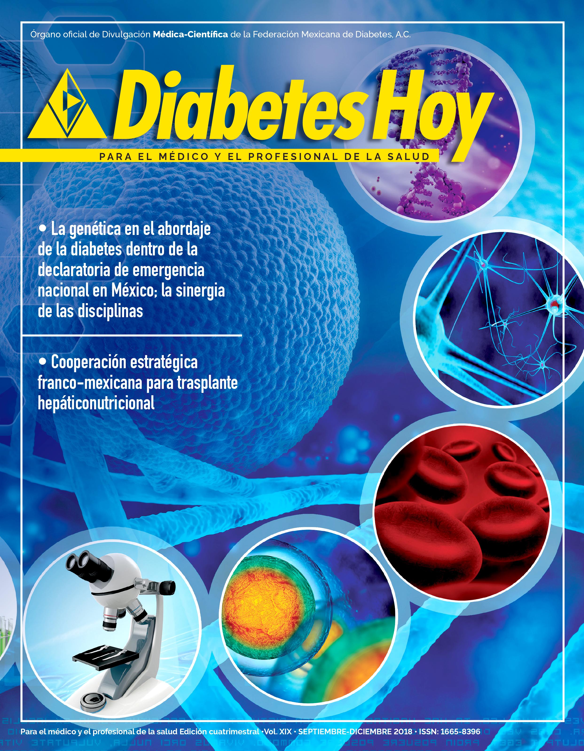 Revista Diabetes Hoy septiembre-diciembre 2018