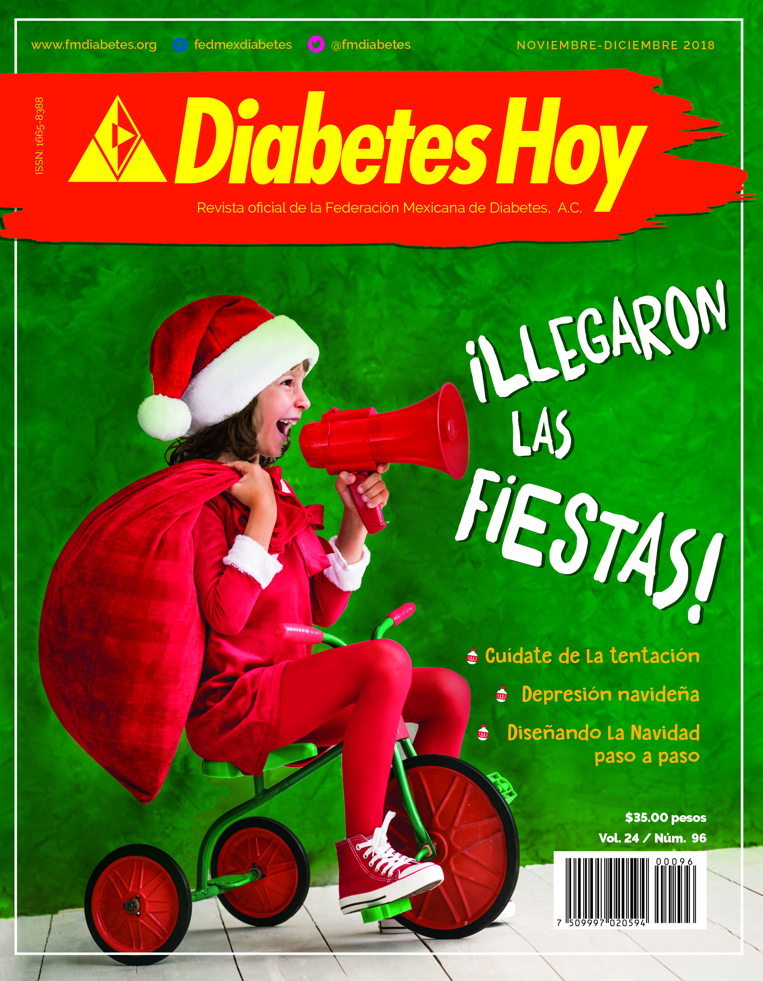 Revista Diabetes Hoy noviembre – diciembre 2018
