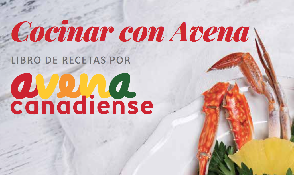 Cocinar con Avena – libro de recetas