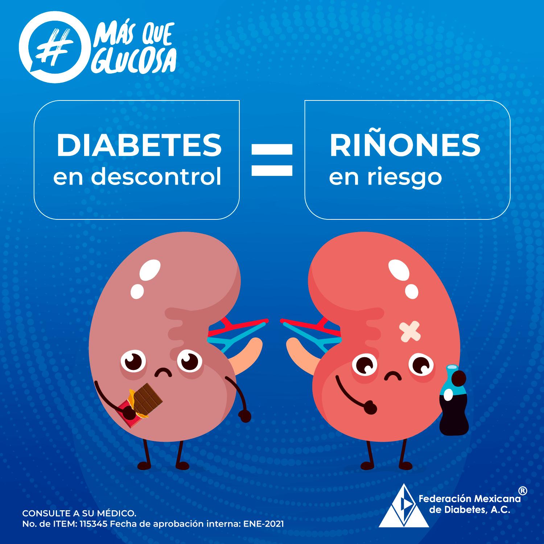 Complicaciones de los riñones en la diabetes
