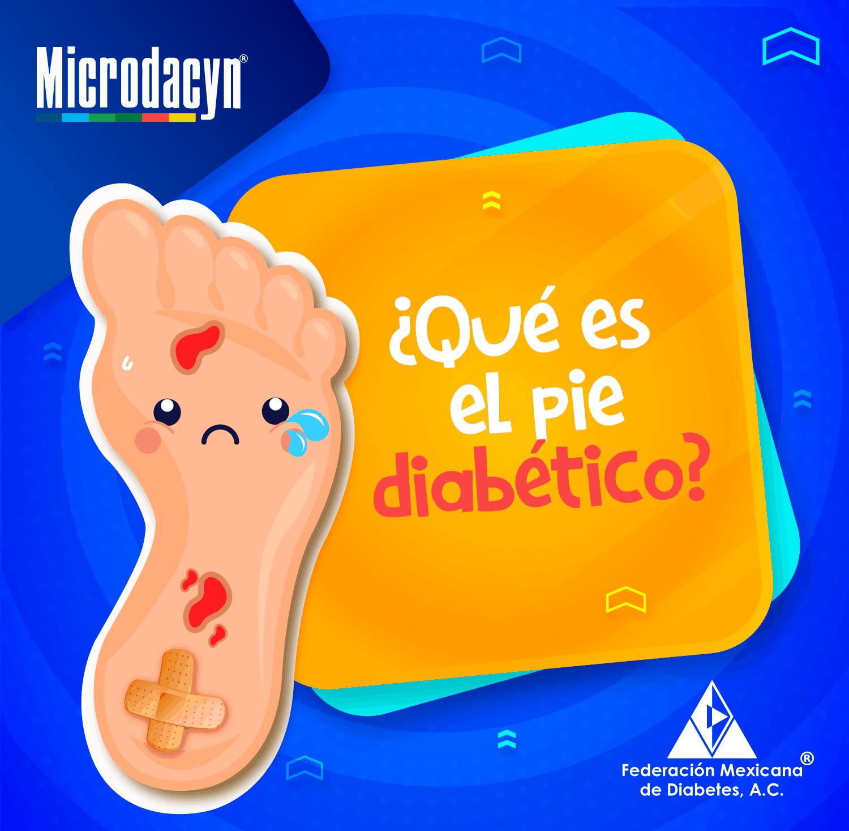 ¿Qué es el pie diabético?