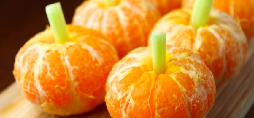 Calabaza de mandarina
