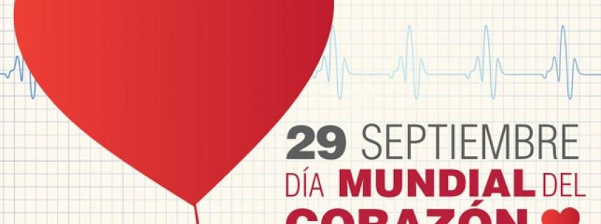 OMS: 29 de Septiembre Día Mundial del Corazón, apuesta a reducir factores de riesgo