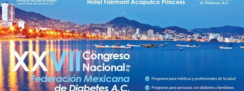 XXVII Congreso Nacional de la Federación Mexicana de Diabetes, A.C.