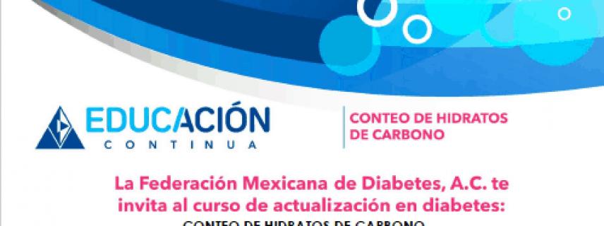 INVITACIÓN – CONTEO DE HIDRATOS DE CARBONO